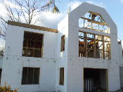 BuildBlock Insulating Concrete Forms (ICF) Energy Efficient Lakeside Residence1