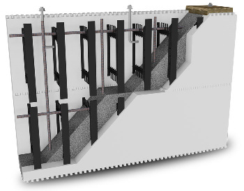 Advantage of build with BuildBlock Insulating Concrete Forms (ICF)