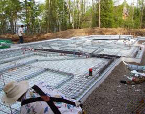 Legalett Geo-Slab On-Grade Insulated Slab and Founation Forms and Radiant Floor Heating