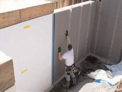 Drainage Systems for ICF/Insulating Concrete Forms